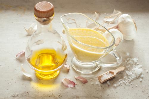 Receta de salsa de ajo árabe