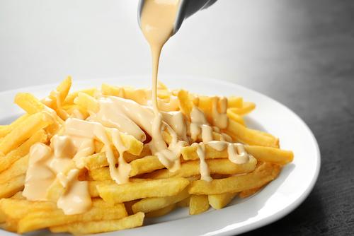 Receta de salsa de queso para patatas