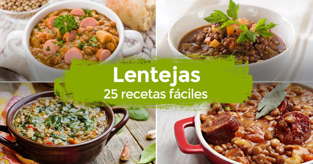 Lentejas 26 recetas f ciles for Formas de cocinar lentejas