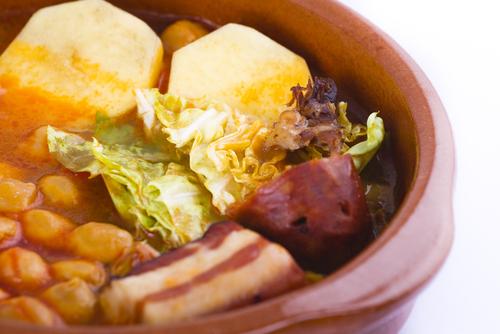 Receta de cocido gallego con grelos