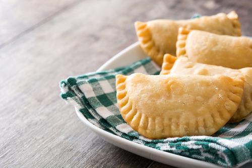 Receta de empanadillas de atún al horno