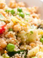 Receta de ensalada de quinoa y garbanzos