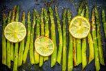 esparragos al horno con limon
