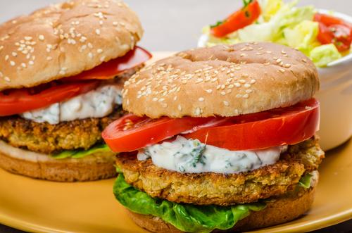 Receta de hamburguesa de garbanzos