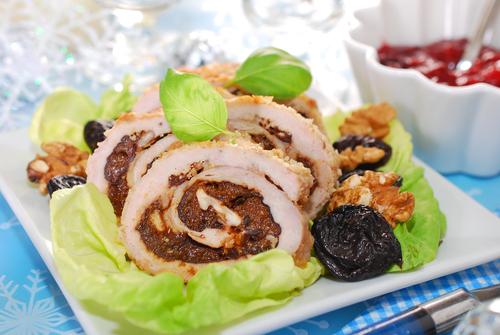 Receta de pavo relleno con carne molida