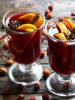 Receta de ponche navideño de frutas