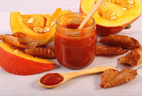 Receta de salsa de calabaza al jengibre