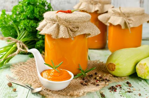 Receta de salsa de calabaza vegana