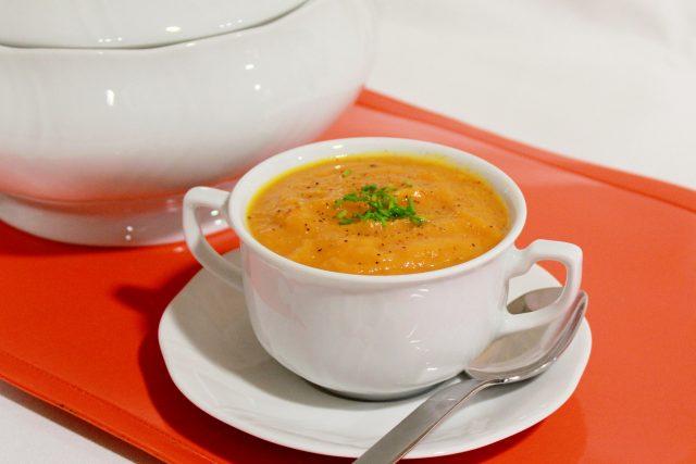 Receta de salsa de calabaza y zanahoria