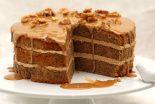 tarta de nueces y miel
