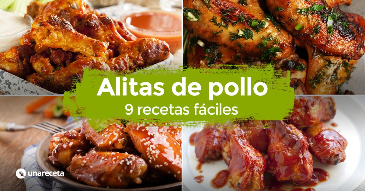Alitas de pollo al horno 9 recetas f ciles - Como cocinar pollo al horno ...