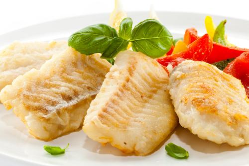 Receta de bacalao al horno con pimientos