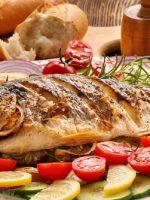 Receta de besugo al horno con verduras