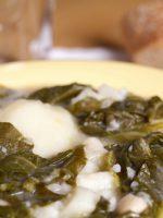 Receta de caldo gallego con grelos