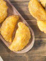 Receta de empanadas de yuca con pollo