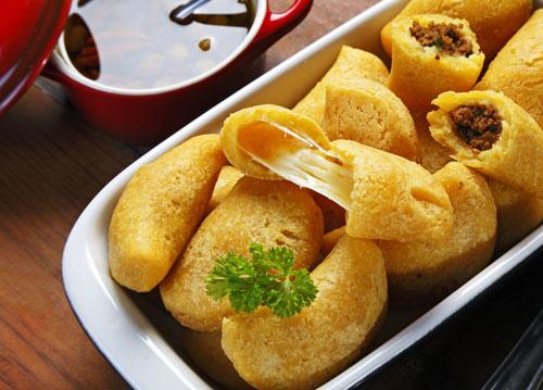 Receta de empanadas de yuca con queso