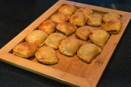 Receta de empanadillas de jamón y queso