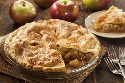 Receta de pie de manzana con hojaldre
