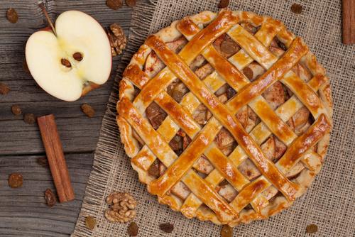 Receta de pie de manzana thermomix