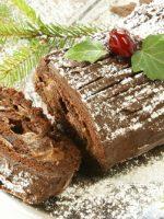 Receta de tronco de Navidad relleno de crema de castañas