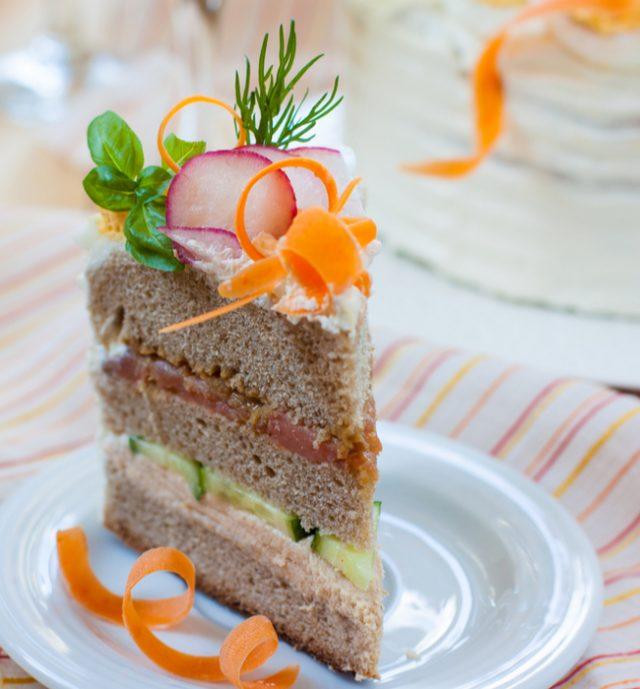 Receta de pastel de salmón ahumado