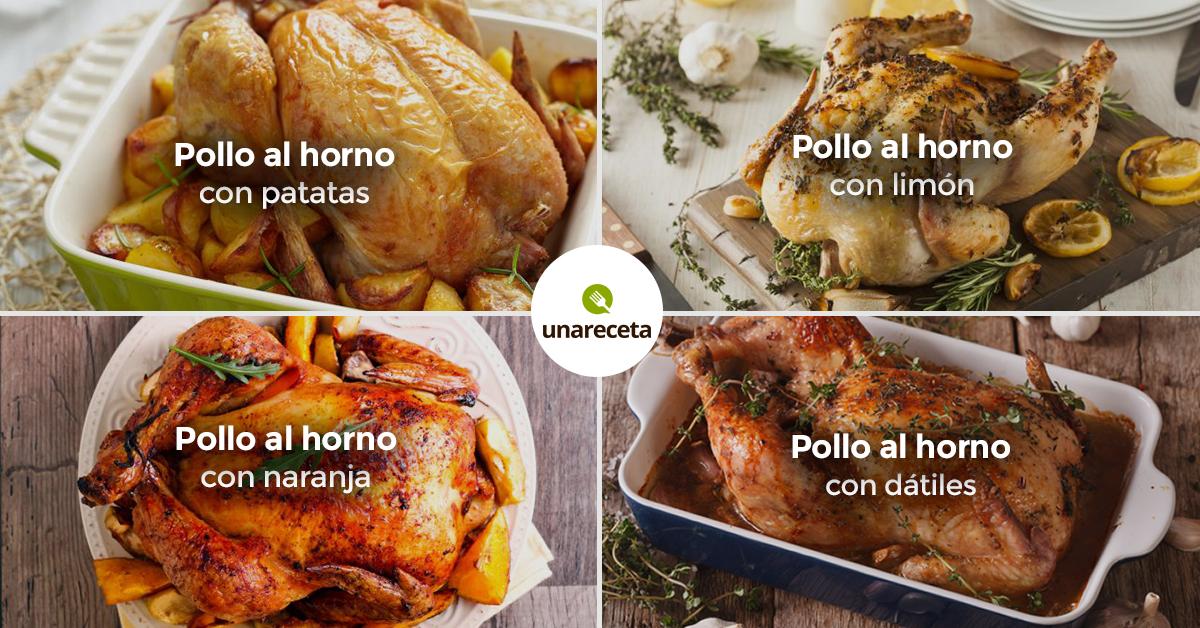 Pollo al horno 27 recetas f ciles - Como cocinar pollo al horno ...