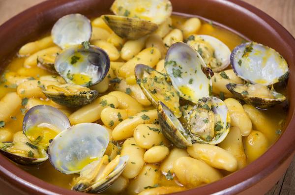 Receta de alubias con almejas en olla express for Cocinar con olla express