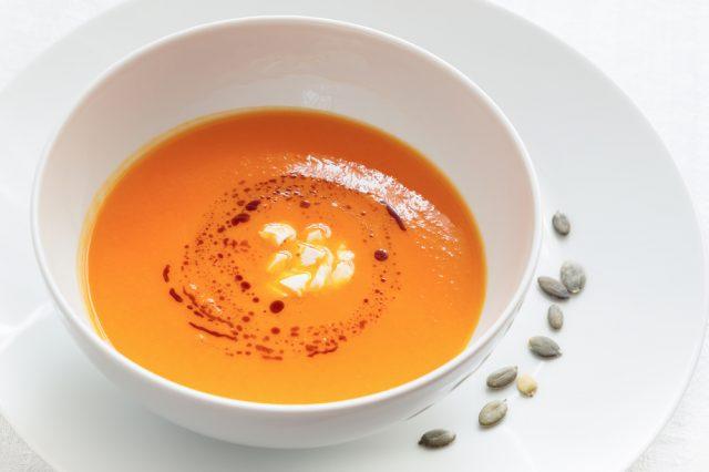Receta de crema de zanahoria fría