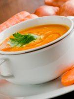 Receta de crema de zanahoria light