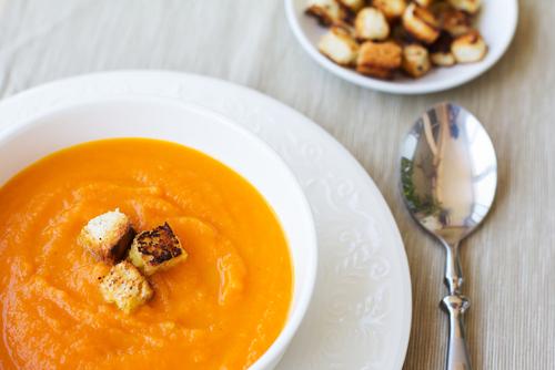 Receta de crema de zanahoria vegana