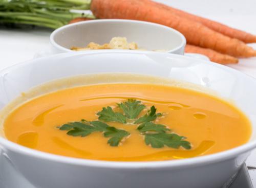 Receta de crema de zanahoria y patata