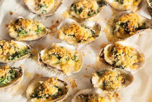 Receta de ostras gratinadas al cava