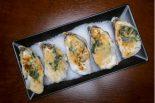 ostras gratinadas con queso