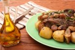 redondo de ternera al horno con manzana
