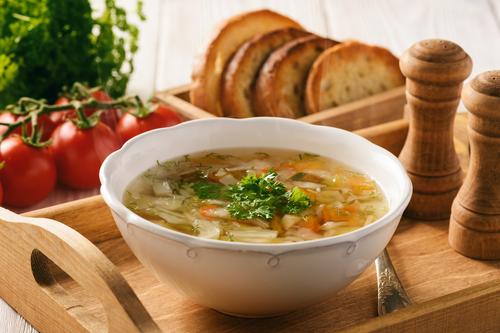 Receta de sopa de pan con leche