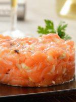 Receta de tartar de salmón fresco