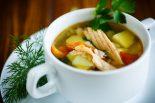 Sopa de verduras para niños
