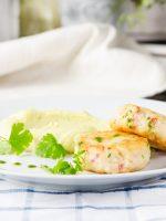 Receta de pastel de salmón con aguacate