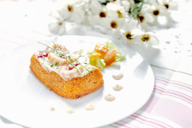 Receta de pastel de salmón sin pan