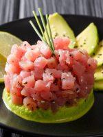 Receta de tartar de salmón estilo japonés