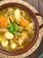 Receta de caldo de gallina ecuatoriano