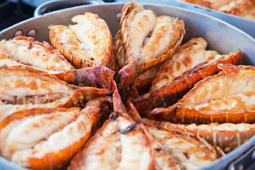 receta de cigalas al horno con alioli
