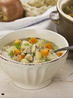 Receta de sopa de verduras colombiana
