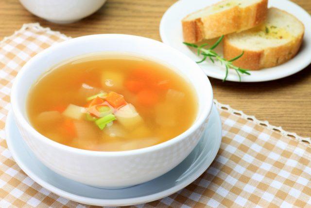 Como hacer sopa de pollo para adelgazar