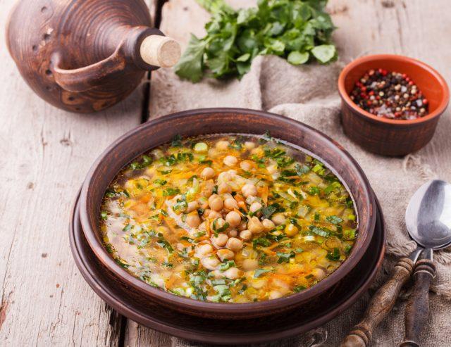 Receta de potaje de verduras canario