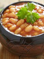 Receta de alubias con verduras thermomix