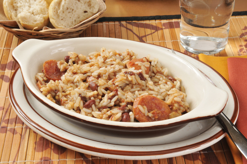 Receta de arroz con habichuelas de bote
