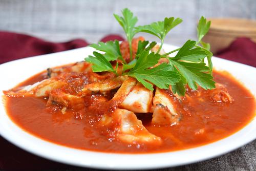Receta de caldo de pescado rojo