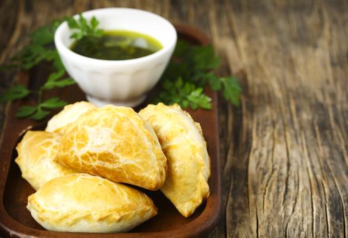 Receta de empanadas argentinas de queso y elote
