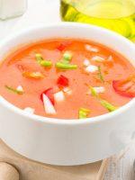 Receta de gazpacho sin pan